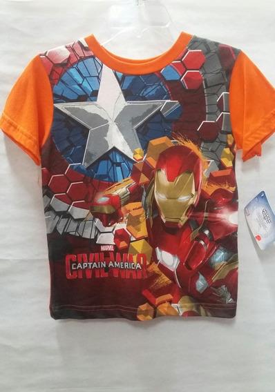 Playera Avengers