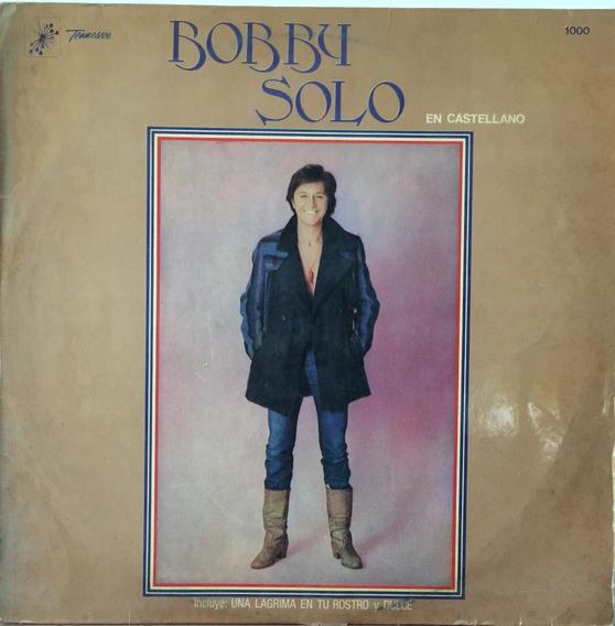 Bobby Solo - En Castellano - Disco Vinilo