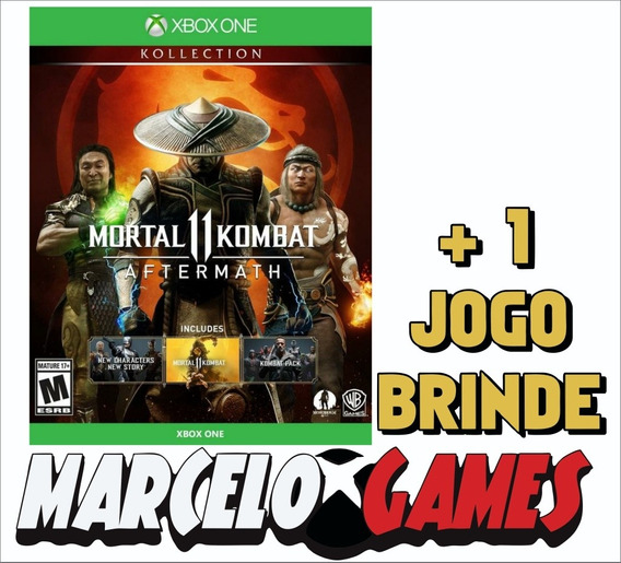 Mortal Kombat 11 Koleção Aftermath Xbox One Midia Digital