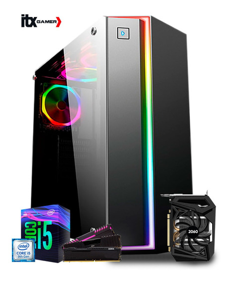 Pc Gamer I5 9400f B360m Rtx 2060 6gb Ram 16gb Ssd 240 Fox
