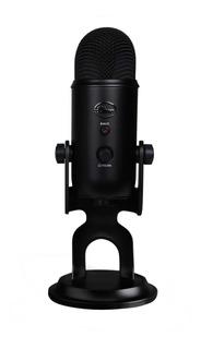 Micrófono Blue Yeti condensador blackout