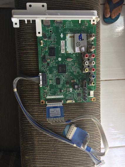Placa De Sinal Lg32lb560b Retirada De Tv Com Tela Trincada