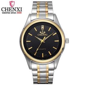 Relógio Masculino Chenxi Aço Inoxidável Original +caixinha