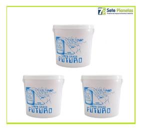 Desengraxante Gel Sabão P/ Mãos Limpa Graxa Branca 2,5kg