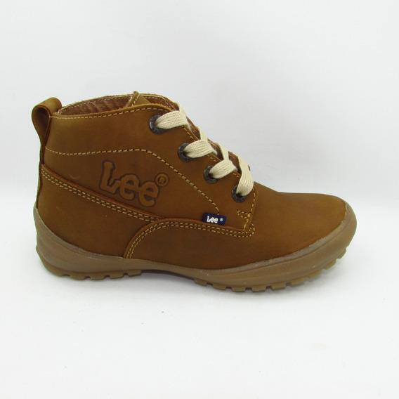 Botas Lee Footwear 1030 Dn Atanado Avellana Piel Vacuno