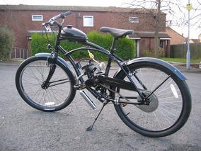 Recatea® Bicimoto Ciclomotor Bicicleta Con Motor Moped 2t