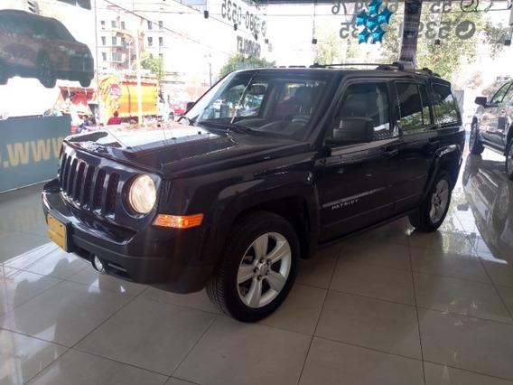 Jeep Patriot 5p Limited Cvt Ve 6 Cd Piel Qc