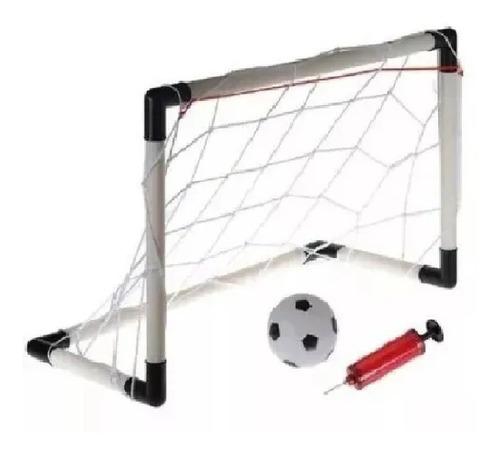 Arquería De Futbol Con Balón Pelota Porteria 2 En 1