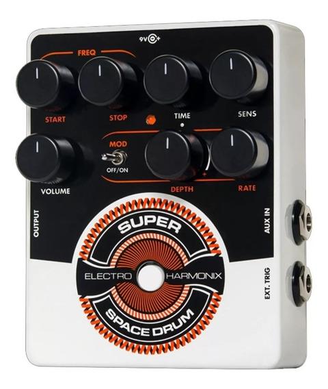 Pedal Electro-harmonix Super Space Drum Reverb Guitarra