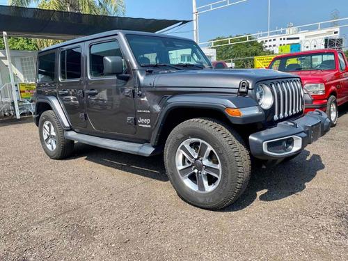 Imagen 1 de 8 de Jeep Wrangler 2019 3.7 Unlimited Sahara 3.6 4x4 At