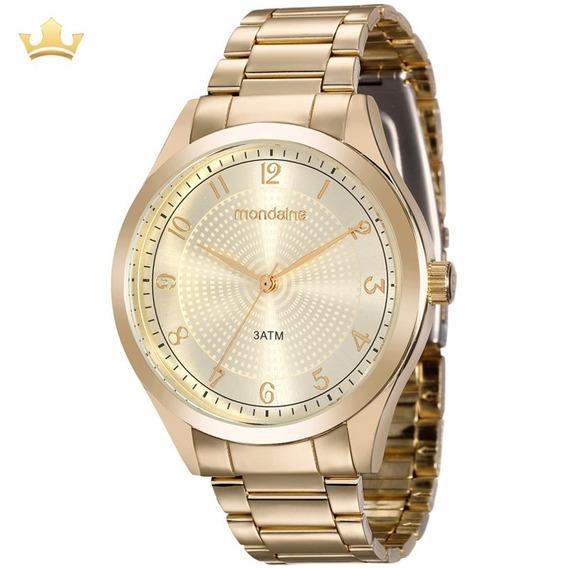 Relógio Mondaine Feminino 99201lpmvde1 Com Nf