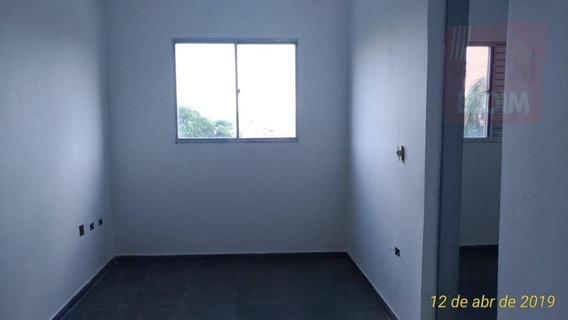 Apartamento Com 1 Dormitório Para Alugar, 29 M² Por R$ 580/mês - Pirituba - São Paulo/sp - Ap24482
