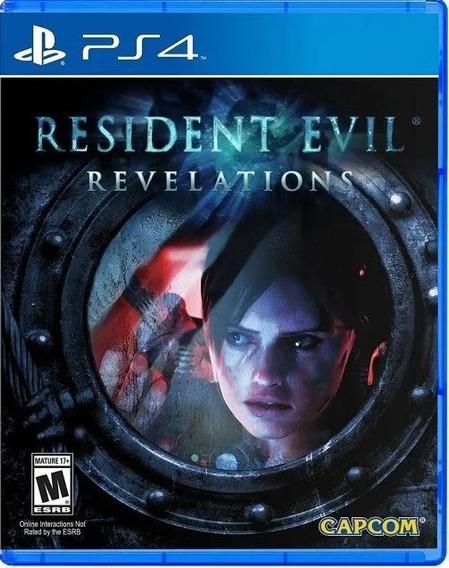Resident Evil Revelations - Ps4 - Mídia Física (lacrado)