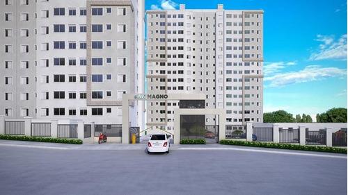 Apartamento À Venda, 43 M² Por R$ 202.900,00 - Jardim Jamaica - Santo André/sp - 15546