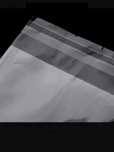 Bolsas Transpente/ Sellado Lateral Y Cinta Adhesiva 27*35+ 5