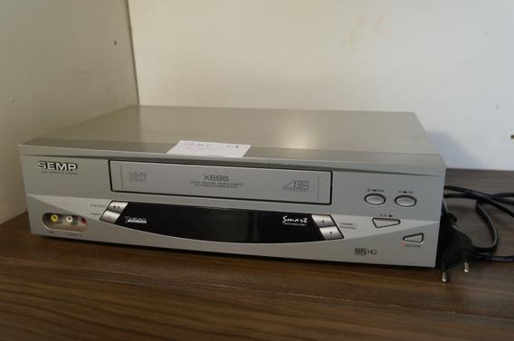 Vídeo Cassete Semp Stéreo X696-usado S Controle- Anúncio 01