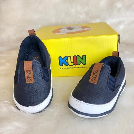 Sapato Cravinho Casual Menino Klin - 16445