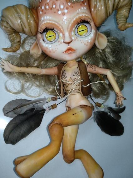 Boneca Blythe Tbl Custom Fauno