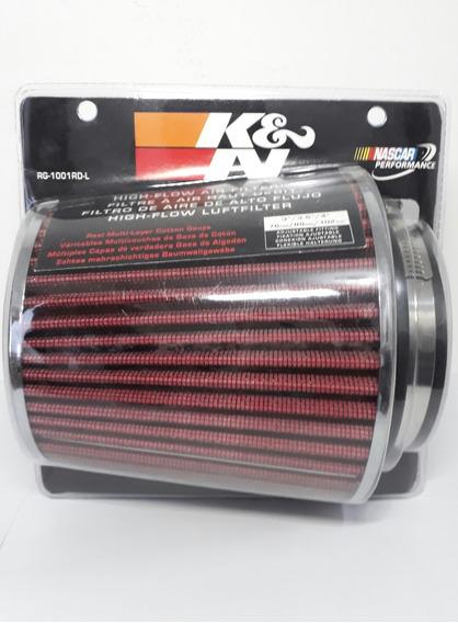 Filtro De Ar Esportivo Kn K&n Rg1001-rd + Squeeze 99-5050 Kn