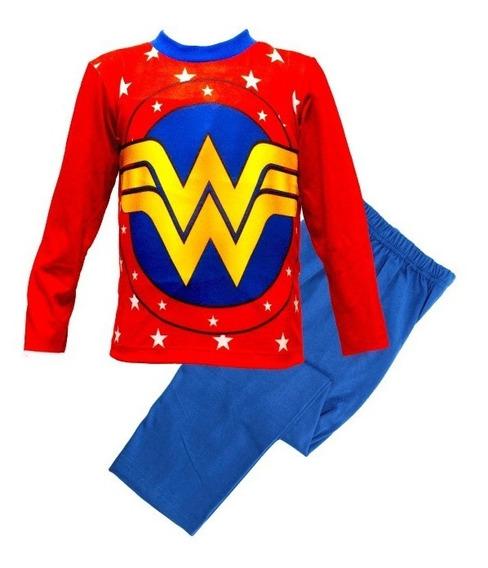 Pijama De Mujer Maravilla