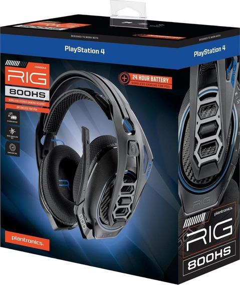 Plantronics Rig 800hs Wireless Para Ps4- Pronta Entrega