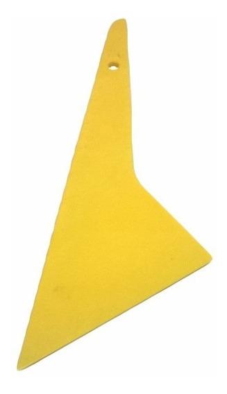 Espátula Amarelo Quick Foot P/ Aplicar Insulfilme 12 X 9,6cm