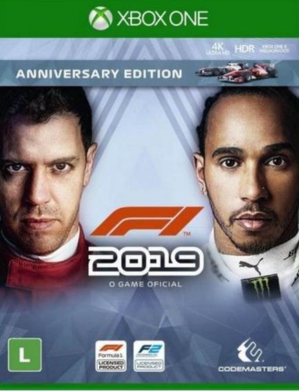 F1® 2019 Xbox One Mídia Digital + Brinde