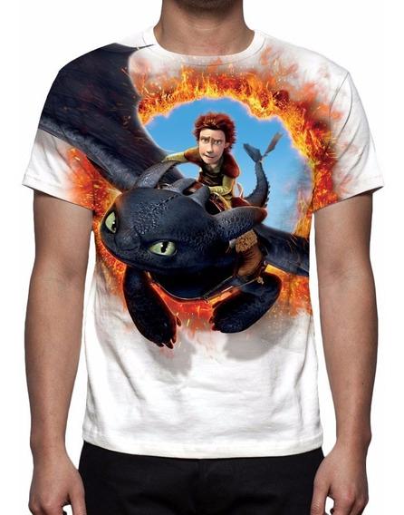 Camisa, Camiseta Como Treinar Seu Dragão 2 Mod 02