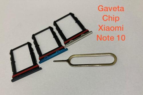 Imagem 1 de 4 de Gaveta De Chip Redmi Note 10