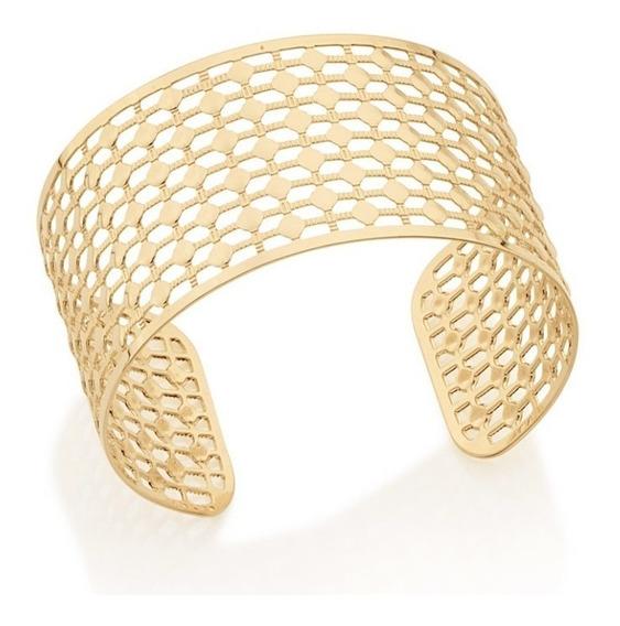 Bracelete Folheado Ouro Ana Hickmann Rommanel 551462 Lindo