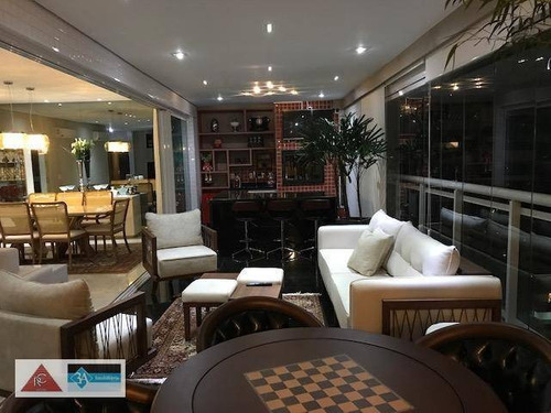 Imagem 1 de 30 de Apartamento Com 4 Dormitórios À Venda, 280 M² Por R$ 3.900.000,00 - Tatuapé - São Paulo/sp - Ap6460
