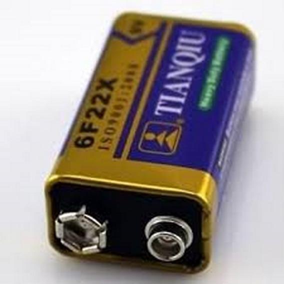 1 X 2.7$ Pila Bateria 9v Carbon Equiprogram