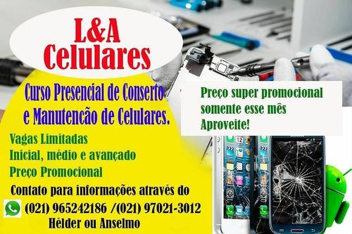 Curso Presencial De Conserto De Celulares E Tablets