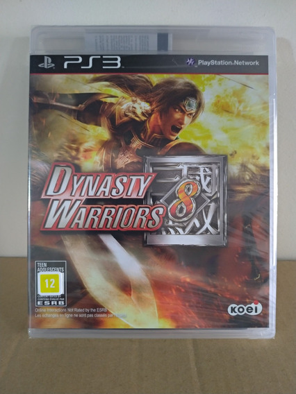 Ps3 Dynasty Warriors 8 - Novo