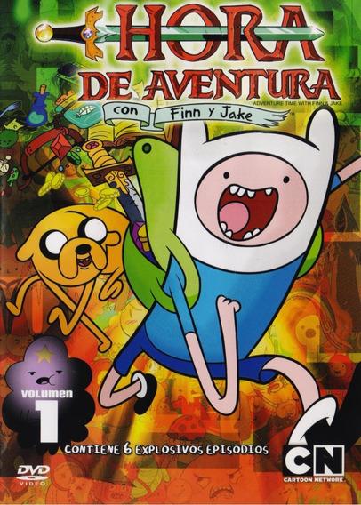 Hora De Aventura Con Finn Y Jake Volumen 1 Uno Dvd