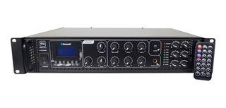 Amplificador Música Funcional Vmr 180 W Bluetooth Fm 6 Zonas