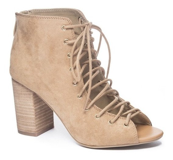 Zapato Dama Botin Beckie Café B&b Chinese Laundry
