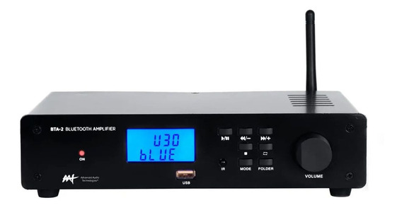 Receiver Estéreo Compacto 2 Canais 60w Bluetooth Aat Bta-2