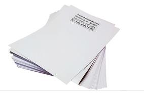 Papel Transfer Laser Rígido P/ Copos E Canecas 200 Folhas A4