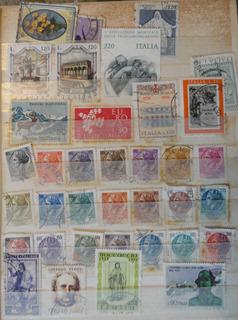 Estampillas De Colección Filatelia Italia