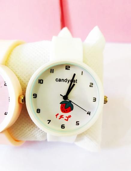 Relógio Delicado E Confortável P/ Mulheres + Pulseira Brinde