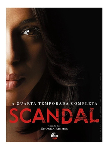 Dvd Box 5 Discos Scandal 4ª Temporada