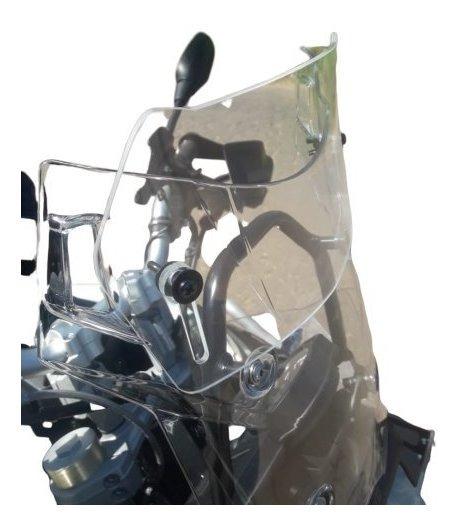 Defletor Com Regulagem Para Motos Com Bolhas