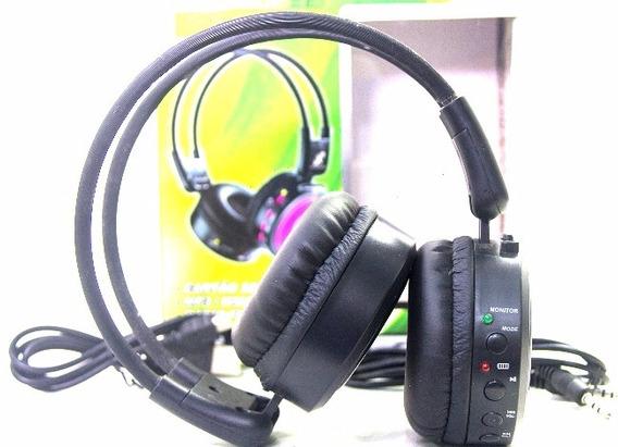 Fone De Ouvido Headphone Stereo Com Radio Fm Xc-hs11