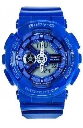 Reloj Baby-g Mujer Azul Ba-110bc-2adr