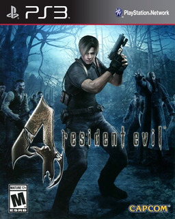 Resident Evil 4 Hd Ps3 Digital - Entrega Ya!