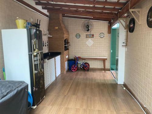 Casa À Venda, 158 M² Por R$ 1.200.000,00 - Marapé - Santos/sp - Ca0738
