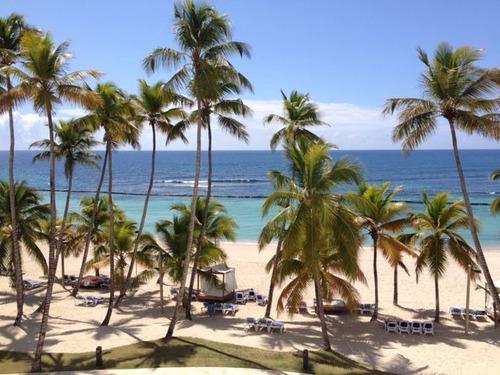 Apartamento Con Vista A La Playa En Juan Dolio