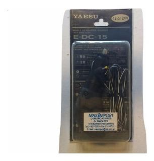 Cargador Encendedor De Auto Edc-15 Para Yaesu Vx-1r/vr-120