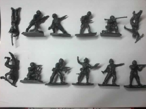 Soldados Chicos (5cm) Por 48 Unidades De Juguete
